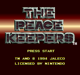 Peace Keepers, The001