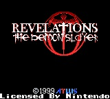 Revelations - The Demon Slayer (USA)