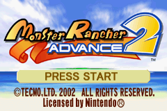 Monster Rancher Advance 2 title