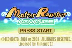 Monster Rancher Advance title