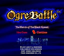 You've Never Seen Nothing Like It – Super Nintendo – Ogre