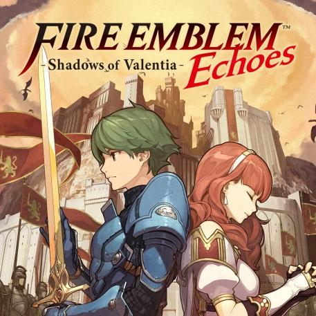 Fire Emblem Echoes Cover