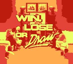 Win Lose or Draw Title