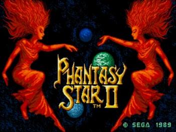 Phantasy Star II Title