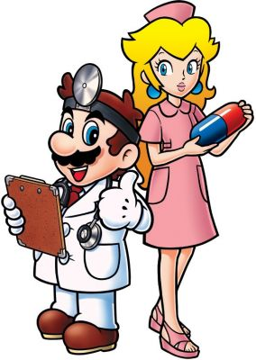 dr mario nurse peach