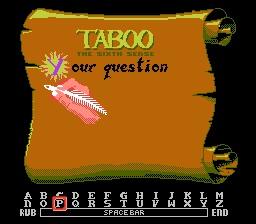 Taboo Scroll