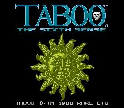 Taboo Title